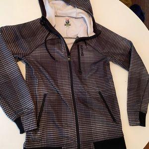Burton Men's Small Dryride zip front hoodie